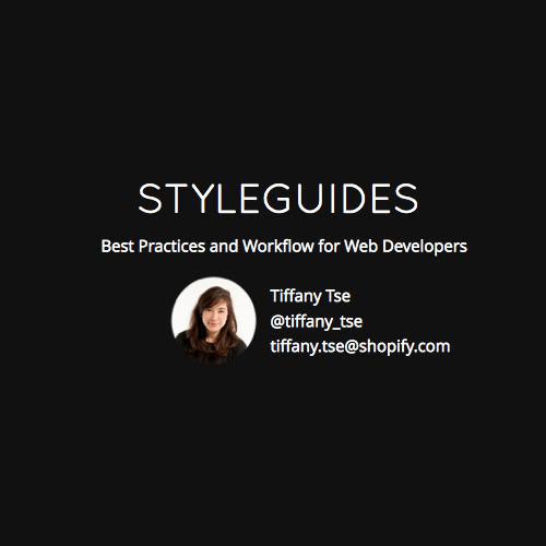 Style Guides: Best Practices and Workflow for Web Developers by tset