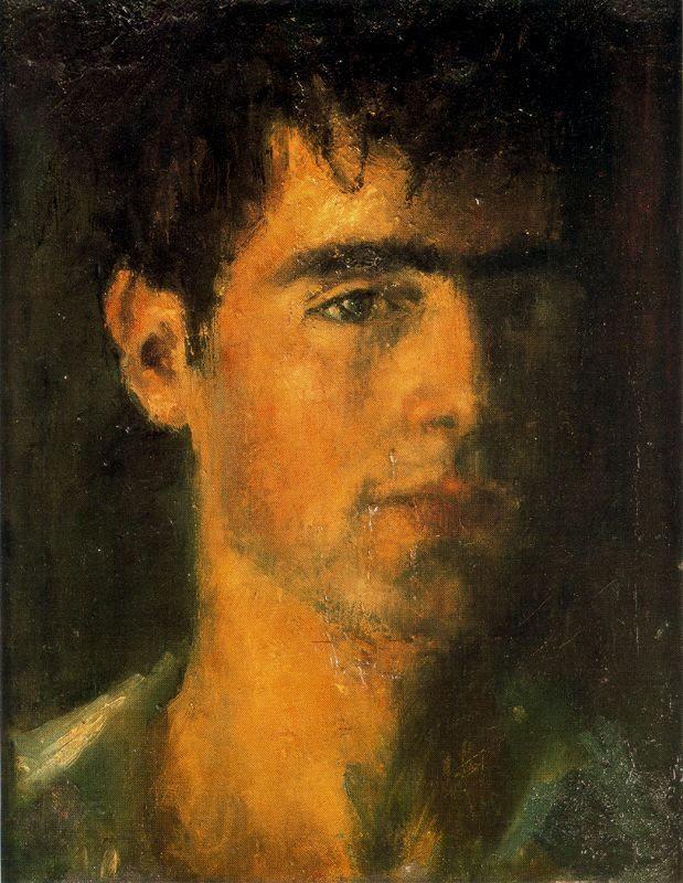 "erretratu:  José Maria Guerrero Medina - ""Autorretrato"" 1960"