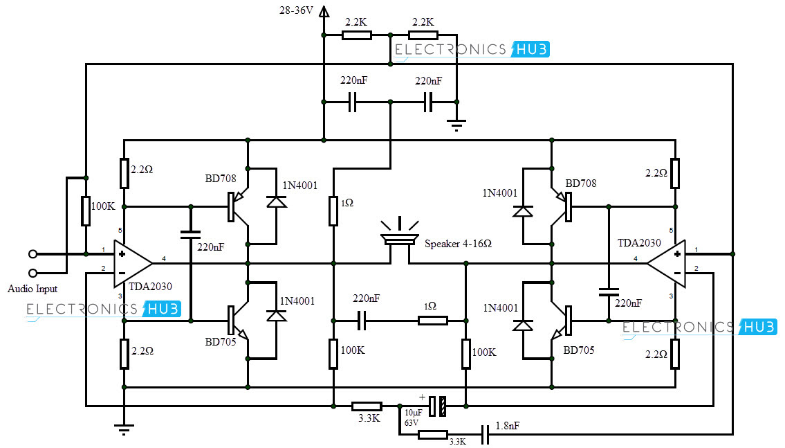 Siwire  200w Amp Circuit