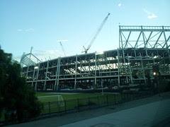 49ers new home under construction I