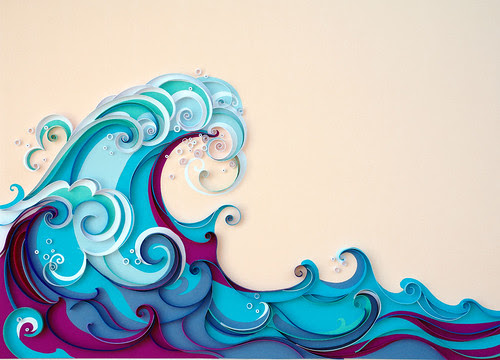 quilled-waves