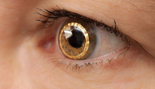 Sony's Smart Contact Lenses Could Record, Play And Store Videos
