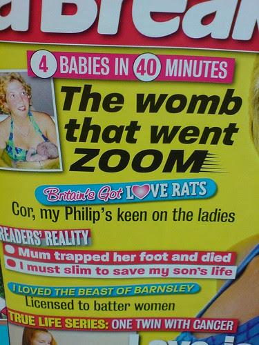 Headline of the week, surely.