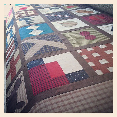 A quilt of my own!
