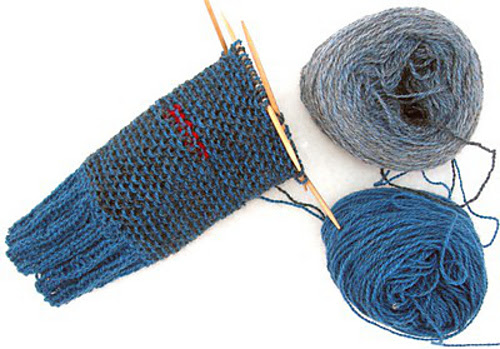 Double knitting ~ Juntitoscrafts punto y manualidades