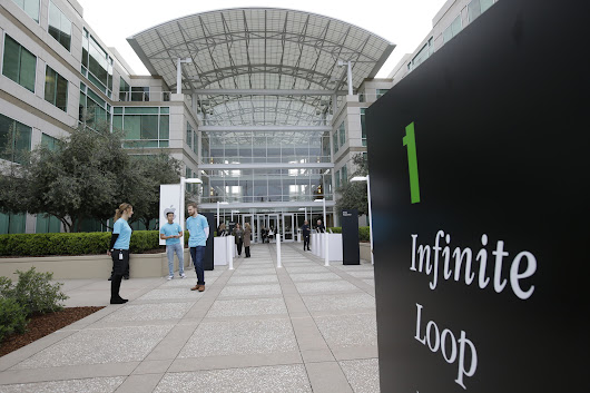 Dead body found at Apple's Cupertino campus
