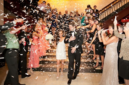 Alternative to Sparklers for Wedding Grand Exit