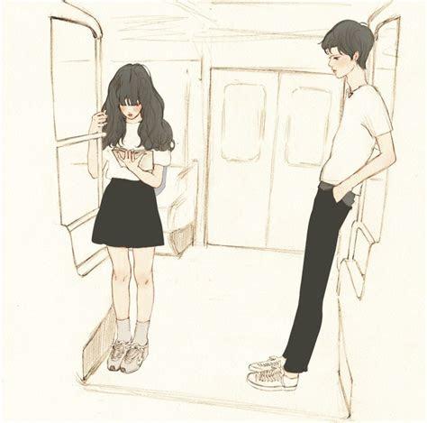 salgoo couples art anime art illustration art