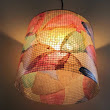Fall Foliage and Lighting with Recycled Coffee Filters | Recyclart