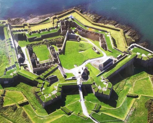 Historic Charles Fort Kinsale County Cork - Wild Atlantic Way Online Guide