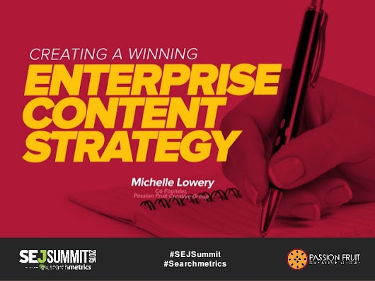 Creating a Winning Brand Content Strategy #SEJSummit