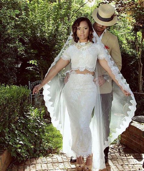 Two piece wedding dress ! So pretty   future dream wedding