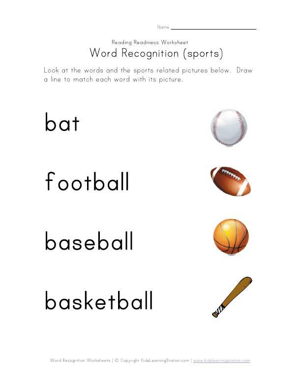 bermulanya di prasekolah ini word recognition worksheets. Black Bedroom Furniture Sets. Home Design Ideas