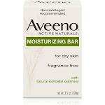 Aveeno Active Naturals Moisturizing Bar, for Dry Skin, Fragrance Free. - 3.5 oz