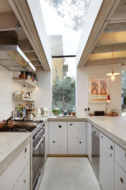 6 Unusual Kitchen Cabinets