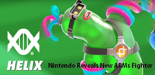 Nintendo Reveals New ARMs Fighter Named HELIX
