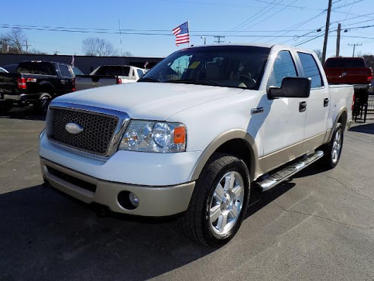 2007 Ford F-150 Lariat 4dr SuperCrew 4x4 Styleside 5.5 ft. SB In Nashville TN - Auto Masters of Hermitage