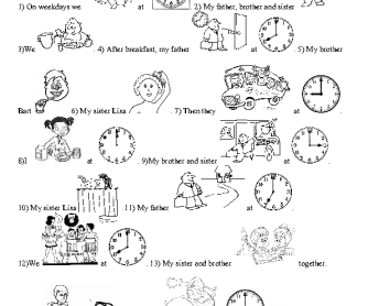 Learn English and Have Fun: Exam practice 2nd (routine