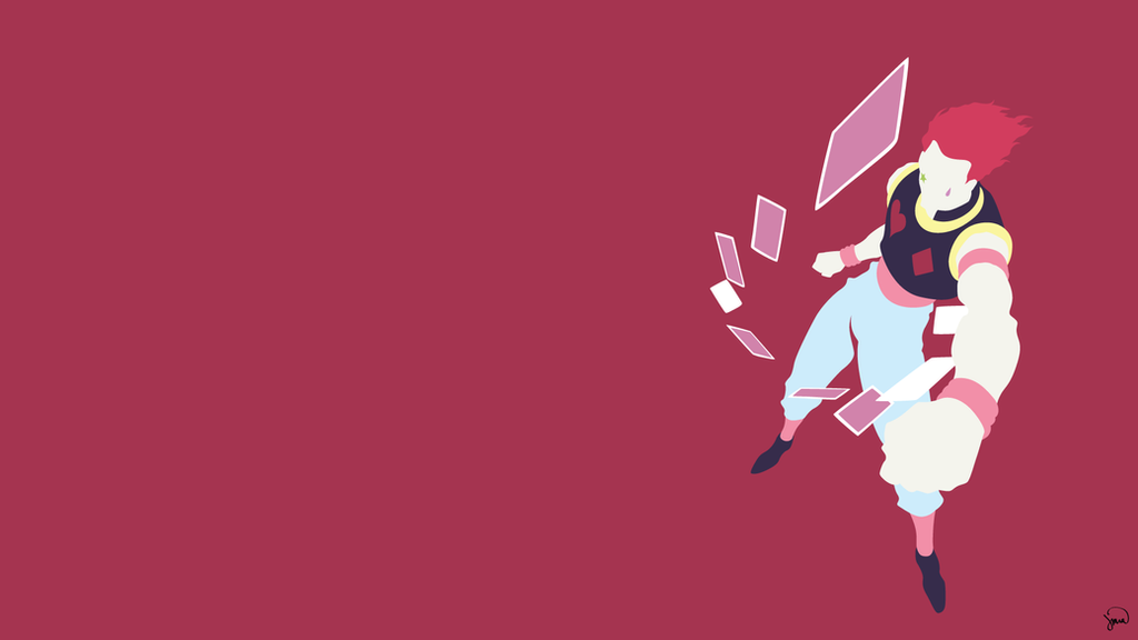 Collection Of Minimalist Wallpaper Anime