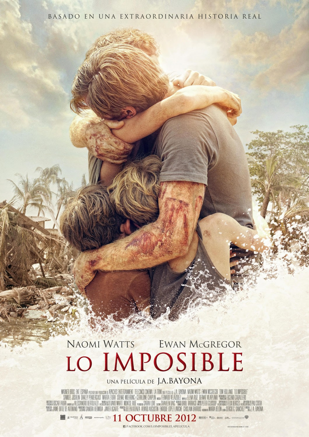 Risultati immagini per the impossible movie poster