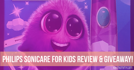 Philips Sonicare for Kids Review and Giveaway!! » xox Mommy