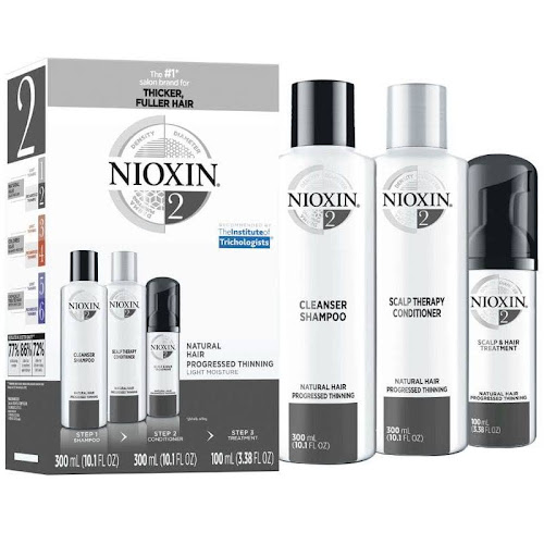 Nioxin System 2 Kit for Natural Hair Progressed Thinning - 3 count
