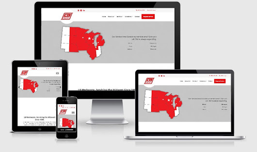 Virtual Vision recently launched a new website for LB Medwaste Services Inc.