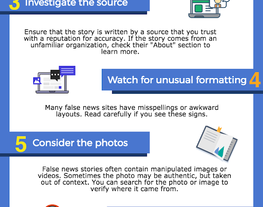 Some Useful Tips to Help Students Spot Fake News
