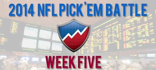 NFL Picks - Against The Spread - Week 5