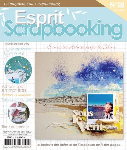 Publication Esprit Scrapbooking N°28