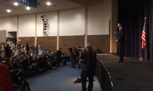 GOP Congressman Jason Chaffetz Just Held a Town Hall Meeting. It Did Not Go Well.