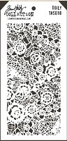 Stamper's Anonymous / Tim Holtz - Layering Stencil - Doily