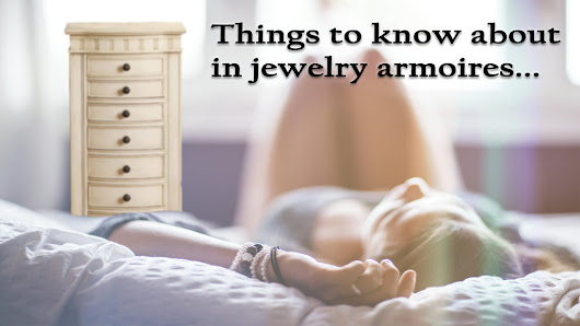 Top 5 Things To Have In A Standing Jewelry Armoire