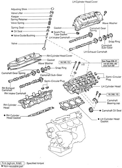 Toyota 5l engine torque settings