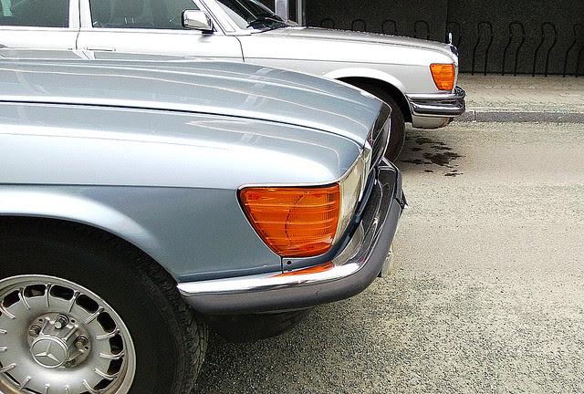 C107 Mercedes Benz 380SLC, W116 280S - WP_20130428_024-e