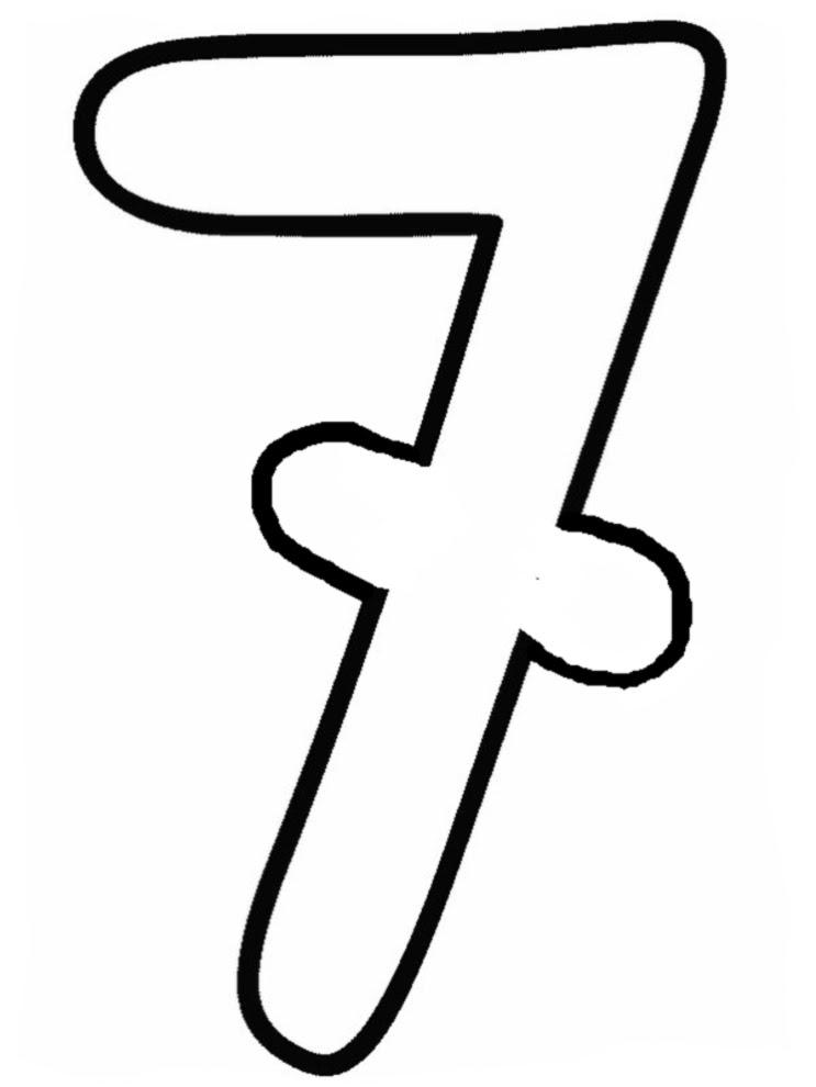 Disegno Di Numero Tre A Colori Per Bambini Disegnidacolorareonlinecom