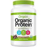 Orgain - Organic Plant-Based Vegan Protein - Creamy Chocolate Fudge (20 Servings) - Plant Based Blends