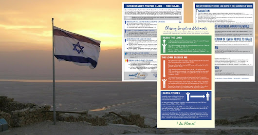 FREE Prayer Guide for the Lost and for Israel to be Saved