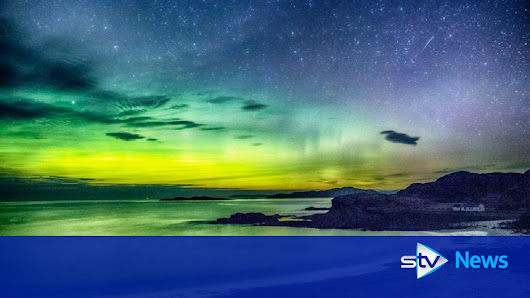 Northern Lights wash skies with colour after red alert