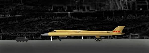 H-18 de mediano alcance supersónico bombardero Stealth 3
