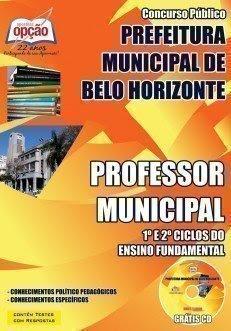 Apostila Concurso PBH Belo Horizonte - Ensino Fundamenta
