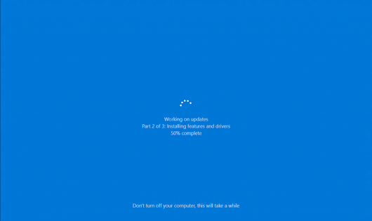Windows 10 - Windows 10 installation stuck