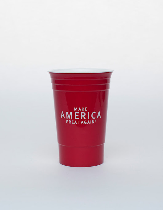 Official Trump-Pence 16oz. Cup - Pack of 4