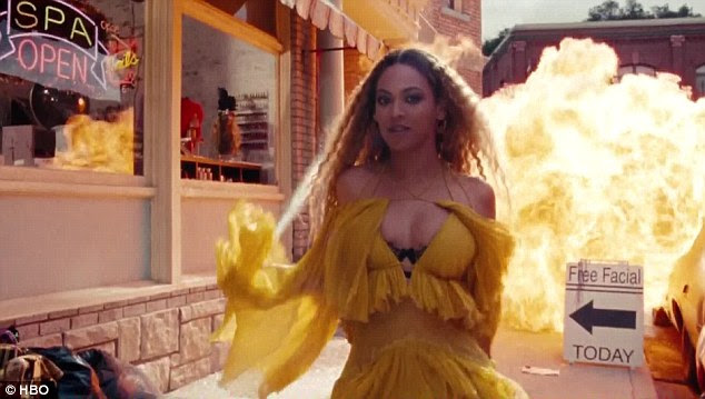 Beyonce appears to confirm husband Jay Z cheated on her in her new album Lemonade, which was released with a HBO special on Saturday night and released on Tidal shortly afterwards