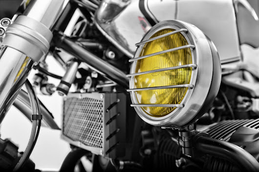 Wunderlich Auxiliary Headlight for BMW R nineT and Scrambler - ResCogs