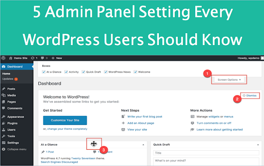 5 Admin Panel Settings Every WordPress Beginners Should Know » WebNots
