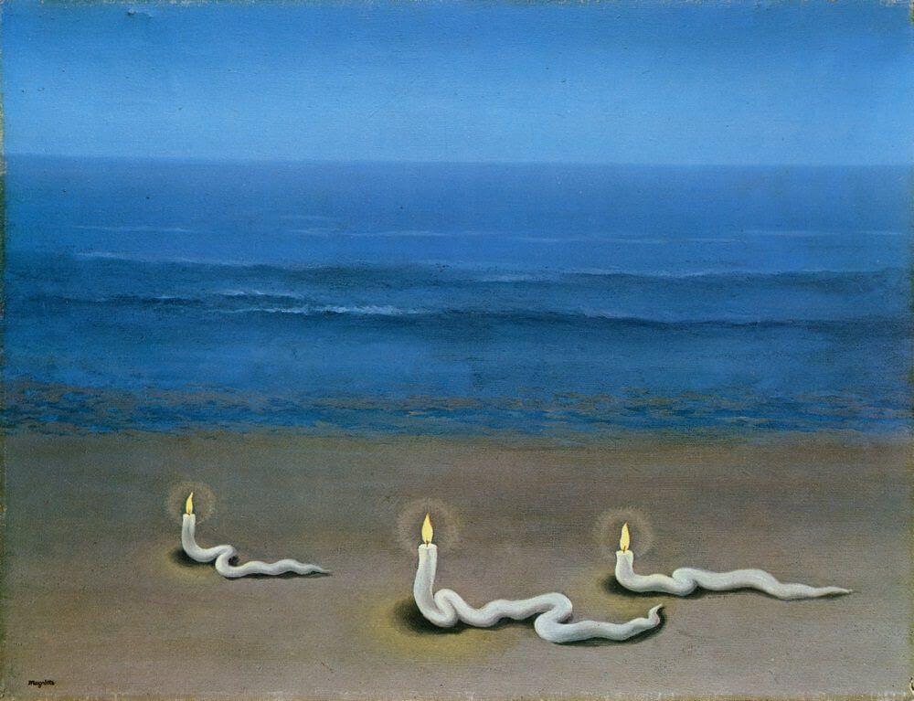 Meditation, 1937 by Rene Magritte