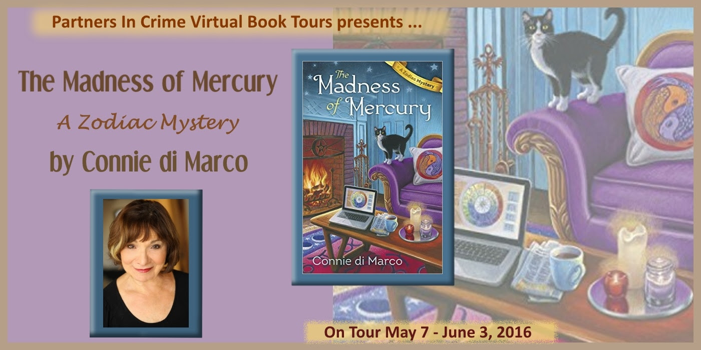The Madness of Mercury by Connie di Marco Tour Banner