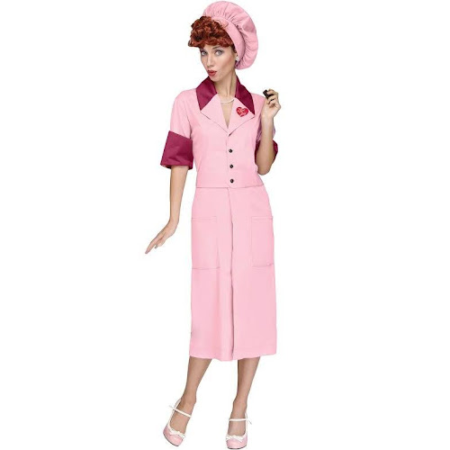Lucy Candy Factory Adult Costume