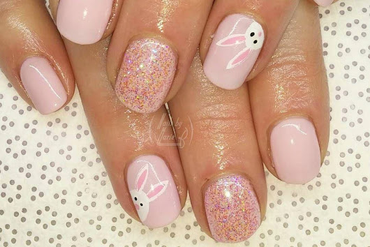 Nail Stamping Dos: Nearly Effortless Easter Nail Art